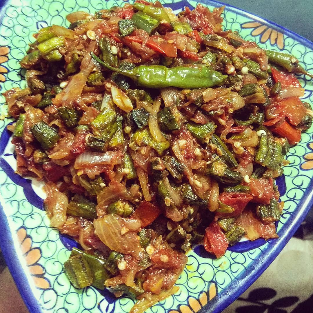 Bhindi is to be loved